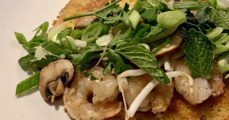 Vietnamese Crepe (Bánh Xèo)