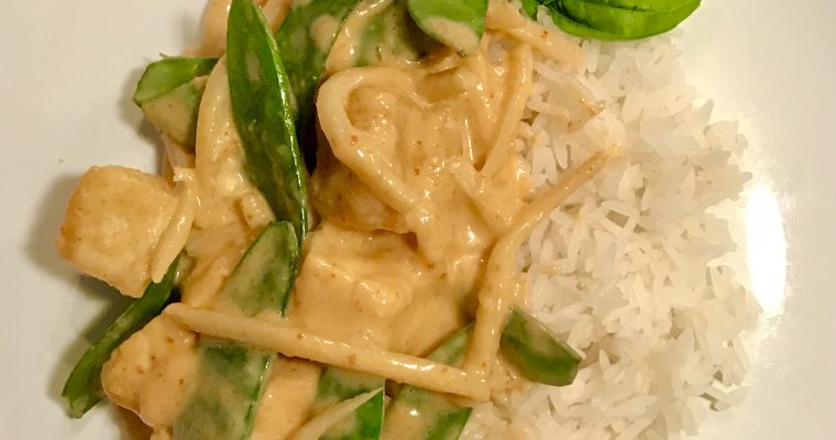 Thai Red Curry with Tofu