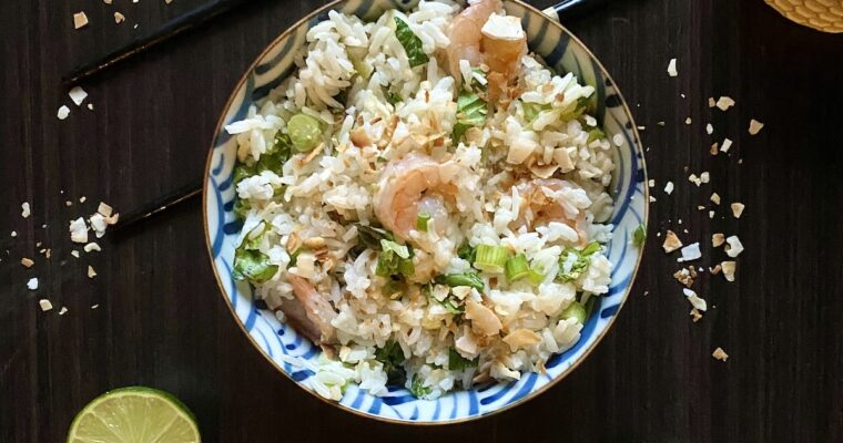 Malaysian Herbed Rice (Nasi Ulam)