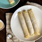 Palatschinken crepes on a plate